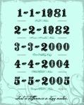 Family Milestones 8.5 x 11
