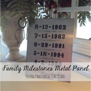 family milestones