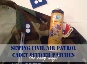 Cadet Officer Patches