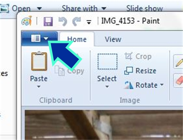 how to convert paint png to pdf
